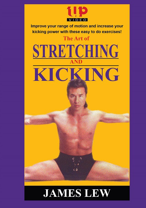 Art of Stretching & Kicking conditioning DVD James Dragonmaster Lew martial arts