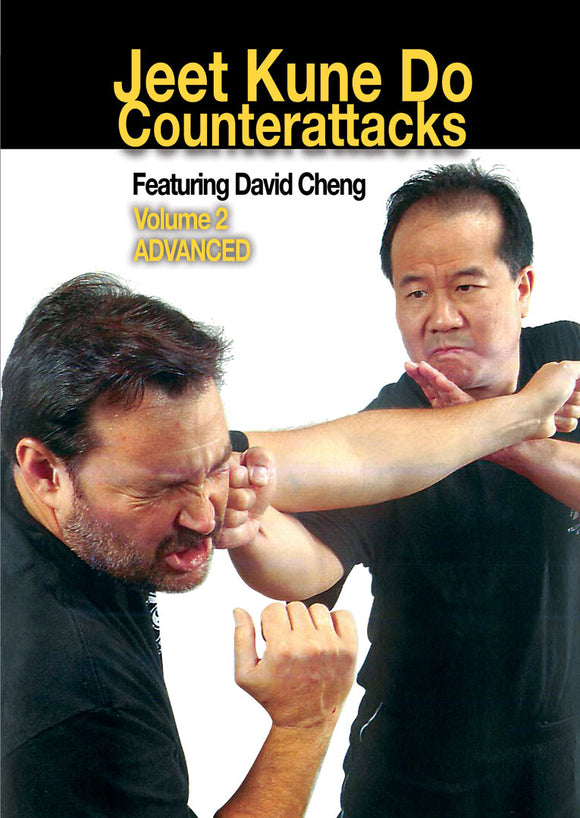 Bruce Lee Jeet Kune Do Counterattacks #2 Advanced DVD David Cheng jun fan