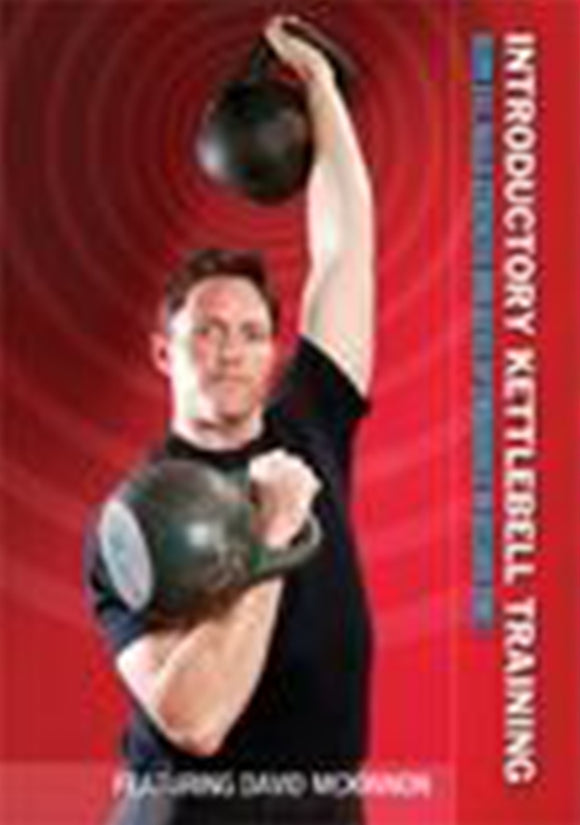Introduction Kettlebell Strength Training For MMA #1 DVD David Morrison bjj