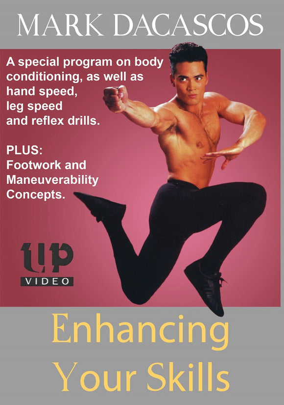 Martial Arts Enhancing Your Skills DVD Mark Dacascos sparring hand foot speed