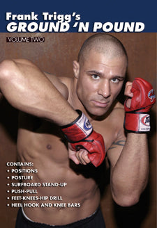 Frank Trigg's Ground 'N' Pound MMA #2 DVD heell hook grappling stand-ups