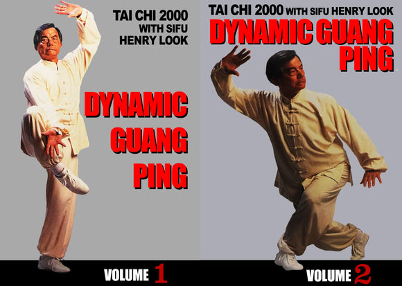 2 DVD Set Dynamic Guang Ping Yang Tai Chi DVD Henry Look hard soft fighting