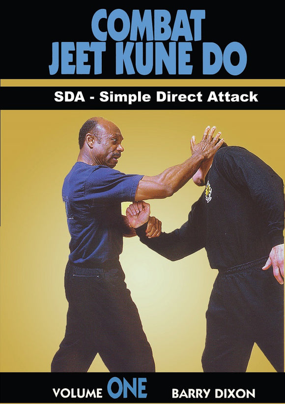 Combat Jeet Kune Do #1 Single Direct Attack DVD Barry Dixon, Bruce Lee Chinatown