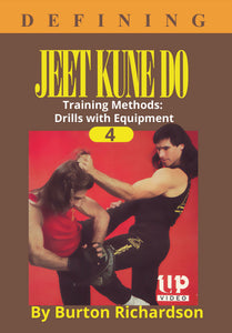 Defining Bruce Lee Jeet Kune Do #4 Training Equipment DVD Burton Richardson