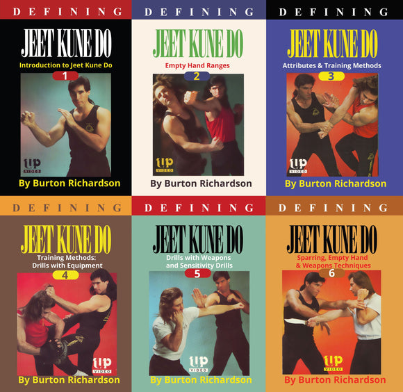 6 DVD SET Defining Bruce Lee Jeet Kune Do instructional by Burton Richardson