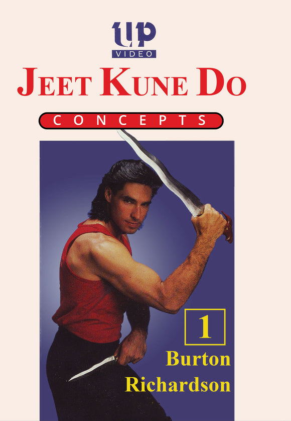 Jeet Kune Do Concepts #1 Introduction, Sticks, Joint Locks DVD Burton Richardson