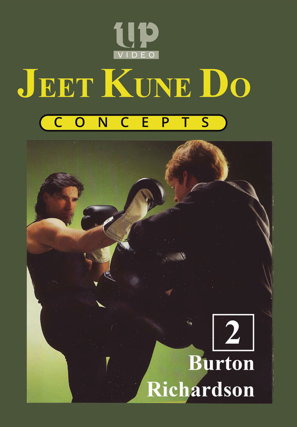 Jeet Kune Do Concepts #2 Trapping & Distancing DVD Burton Richardson