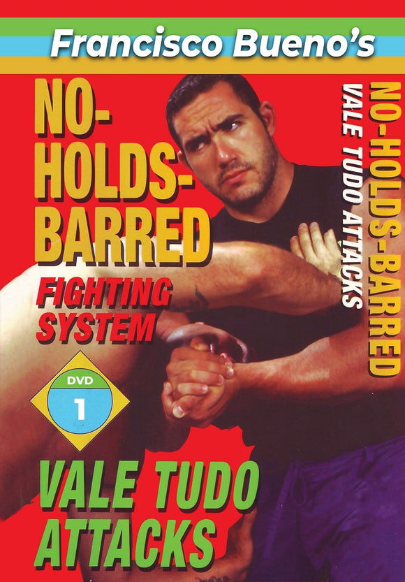 No Holds Barred #1 Vale Tudo Favorite Attack Techniques DVD Francisco Bueno mma