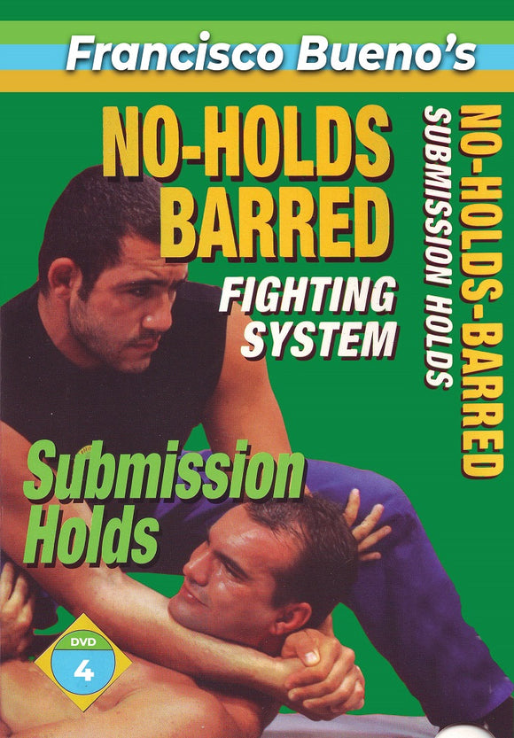 No Holds Barred #4 Vale Tudo Submission Holds DVD Francisco Bueno mma