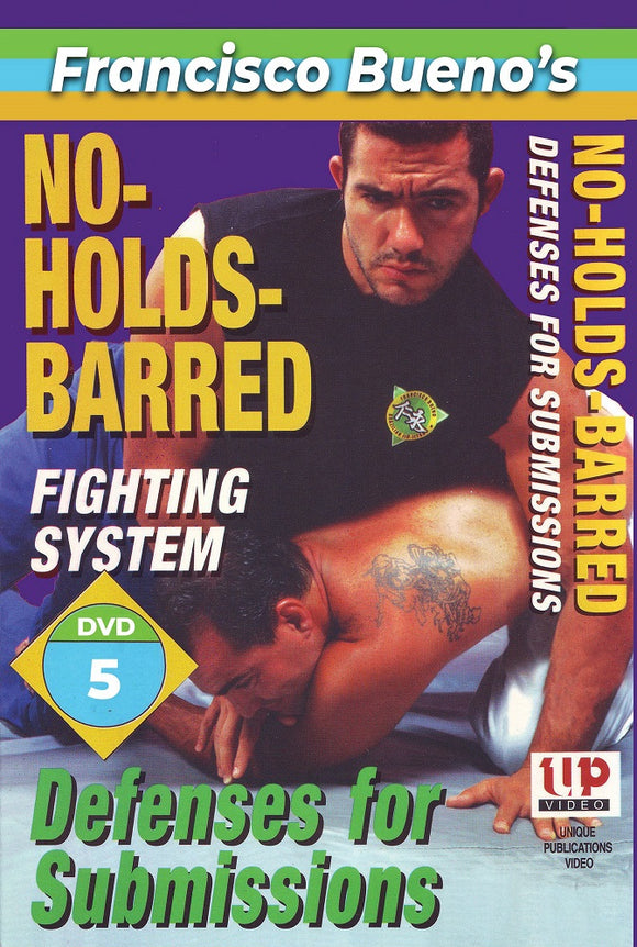 No Holds Barred #5 Vale Tudo Defenses for Submission DVD Francisco Bueno mma