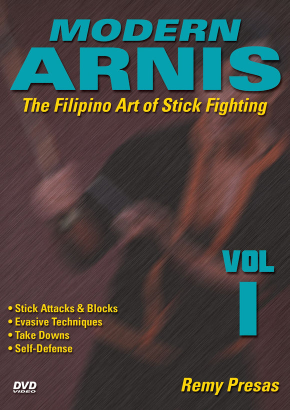 Modern Arnis Filipino Stick Fighting #1 attacks, takedowns ++ DVD Remy Presas