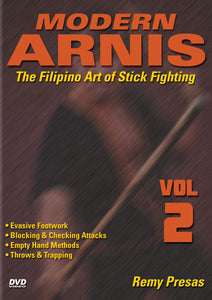 Modern Arnis Filipino Stick Fighting #2 checking throws trapping DVD Remy Presas