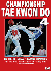 Championship Tae Kwon Do #4 Perfecting Kicks DVD Olympic Champion Herb Perez