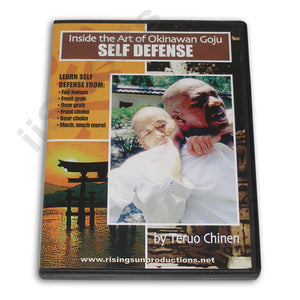 Okinawan Goju Self Defense DVD Teruo Chinen