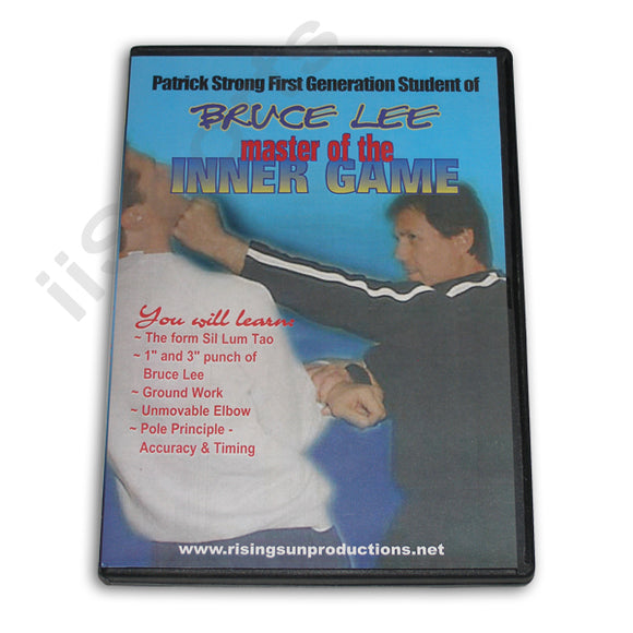 Bruce Lee Master Inner Game DVD Patrick Strong