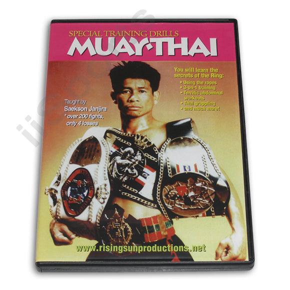 Muay Thai Special Training Drills DVD Janjira