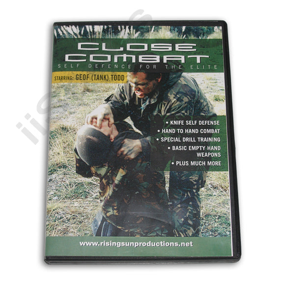 Close Combat Self Defense for Elite DVD Geof (Tank) Todd