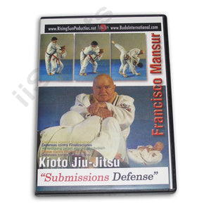Kioto Brazilian Jiu Jitsu Submissions #2 DVD Francisco Mansur