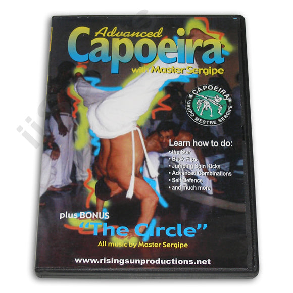 Advanced Techniques Brazilian Capoeira DVD Sergipe