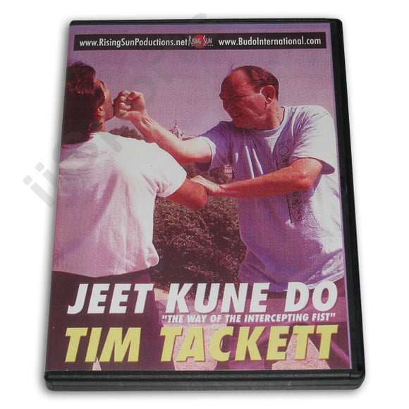 Jeet Kune Do: Way Intercepting Fist DVD Prof. Tim Tackett