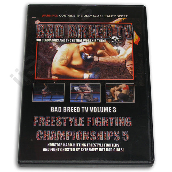 Hard Shooto NHB MMA Grappling Fighting Women Bad Breed Magazine #3 DVD