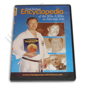 Encyclopedia Who is Who in Martial Arts DVD Emil Farkas