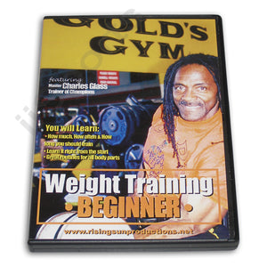 Weight Training Beginner DVD Glass