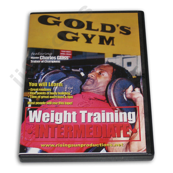 Weight Training Intermediate DVD Glass