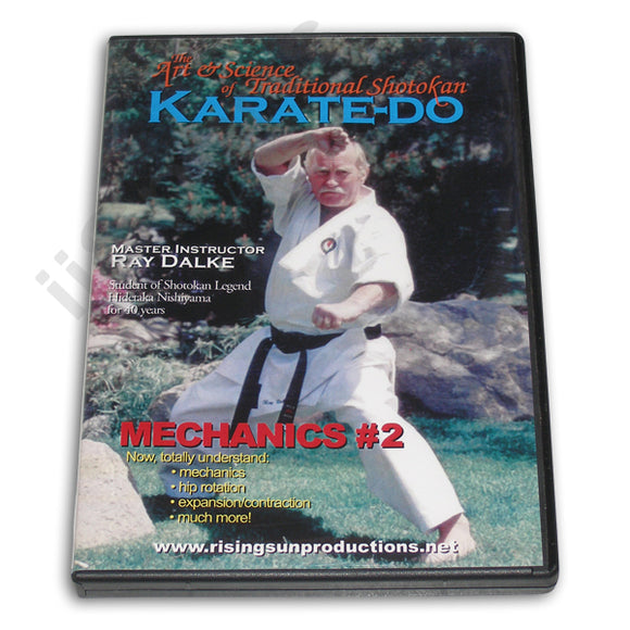 Shotokan Karate-Do Mechanics #2 DVD Dalke