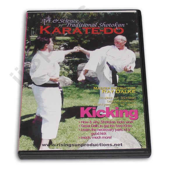 Shotokan Karate-Do Kicking DVD Dalke