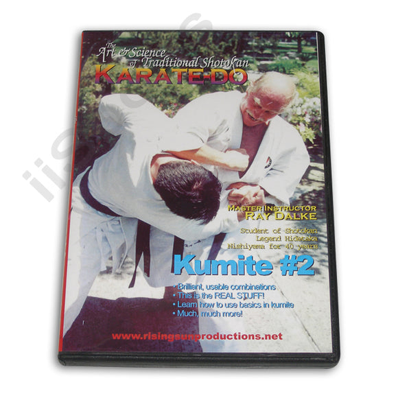 Shotokan Karate-Do Kumite #2 DVD Dalke