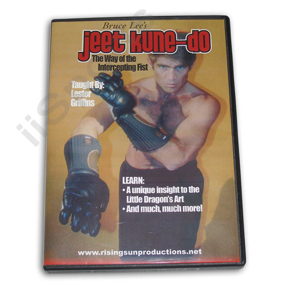 Jeet Kune Do Intercepting Fist DVD Lester Griffin