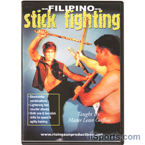 Escrima Filipino Stick Fighting DVD Master Lester Griffins