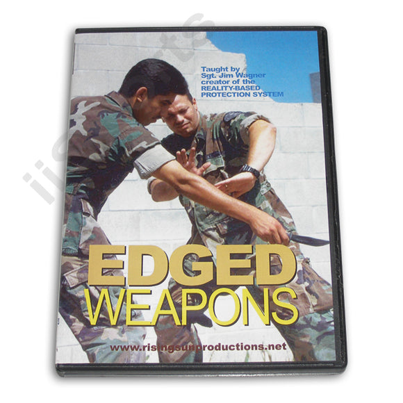 Edged Weapons DVD Sgt Jim Wagner