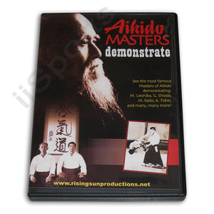 Aikido Masters Demonstrate Body & Weapon Techniques DVD