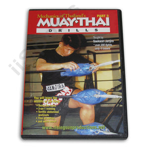 Mechanics Muay Thai #3 Drills DVD Janjira