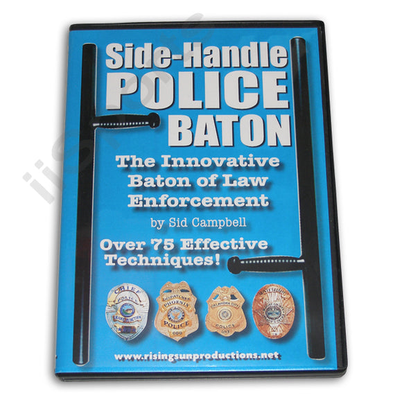 Side Handle Police Baton DVD Sid Campbell
