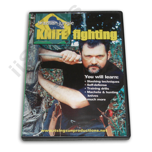 Brazilian Jungle Knife Fighting DVD Antonio Flavio Testa