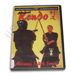 Advanced Japanese Kendo DVD Akitsuna Saitoh