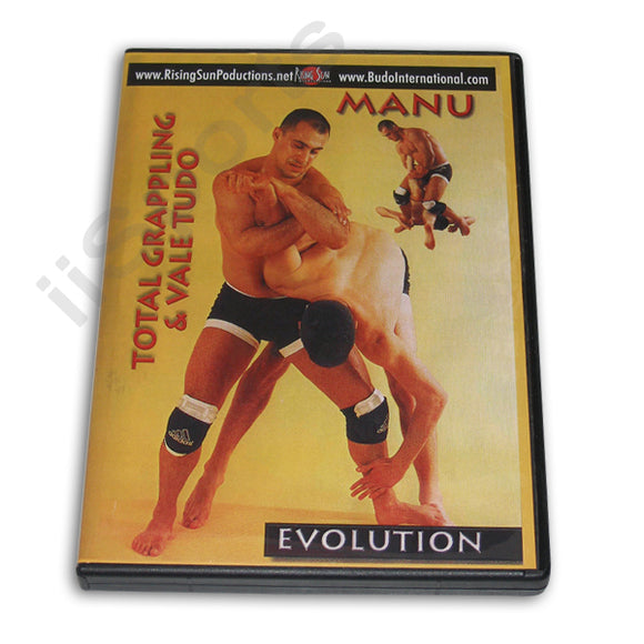 Total Grappling Vale Tudo Evolution DVD Manu