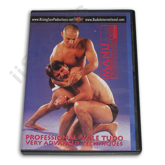 Professional Vale Tudo Very Advanced Tech DVD Manu