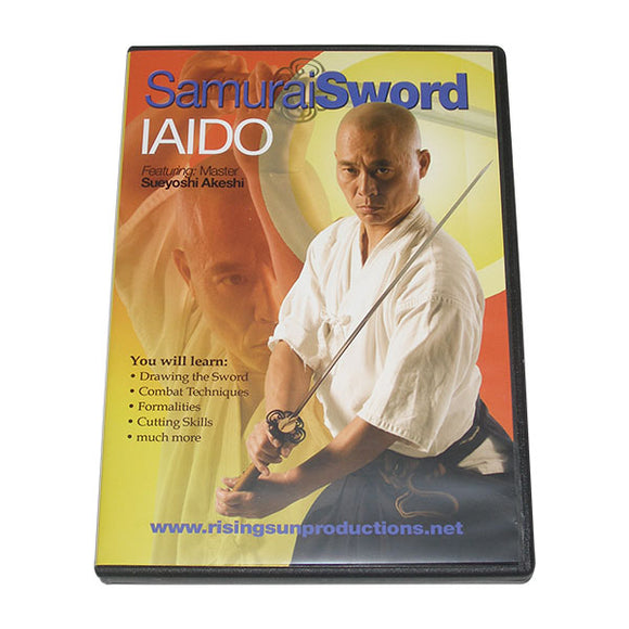 Art of Samurai Sword Iaido DVD Sueyoshi Akeshi
