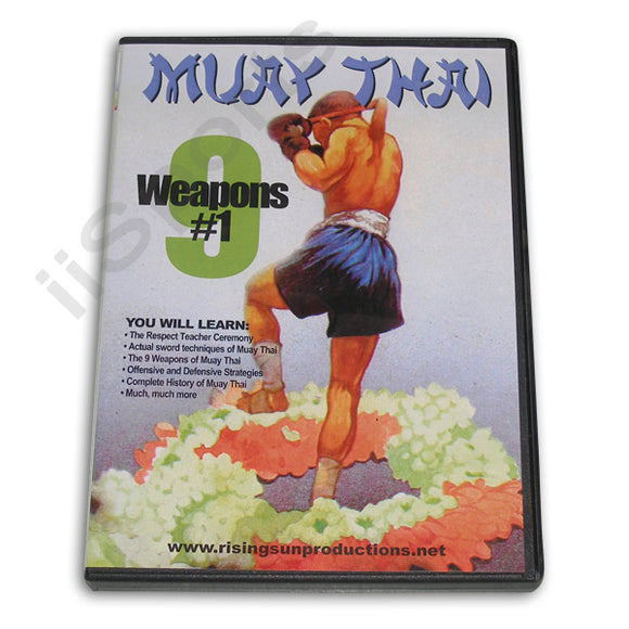 Muay Thai 9 Weapons #1 DVD