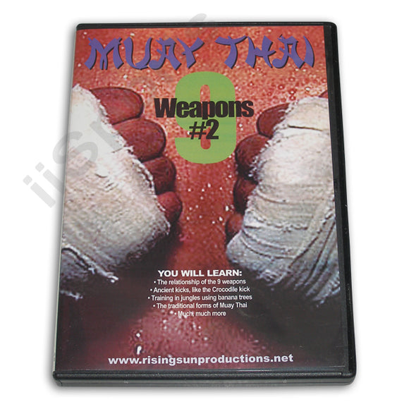 Muay Thai 9 Weapons #2 DVD