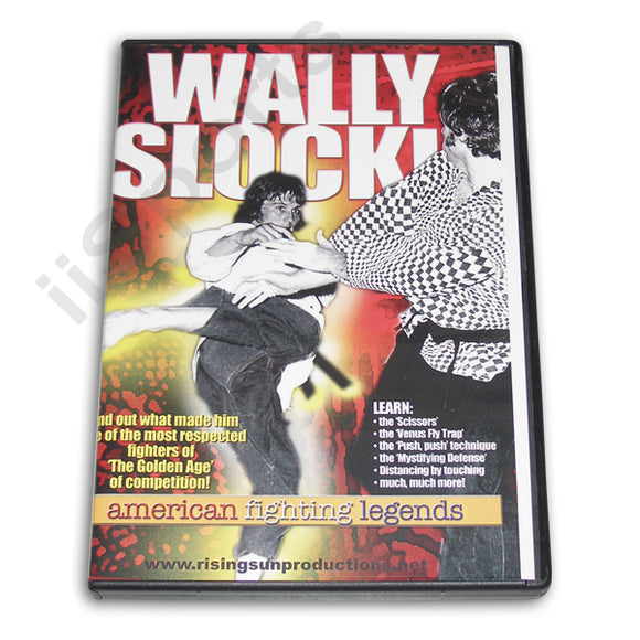 Wally Slocki  American Fighting Legend DVD