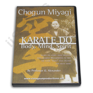 Chogun Miyagi Karate Do DVD George Alexander