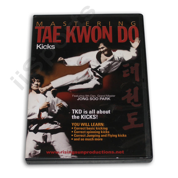Mastering Tae Kwon Do Kicks DVD Park