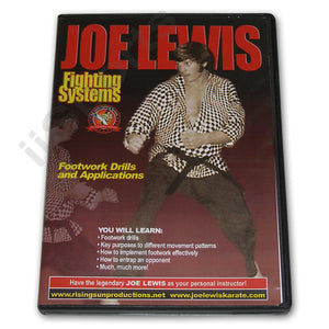 Joe Lewis Fighting Footwork Drills #2 DVD