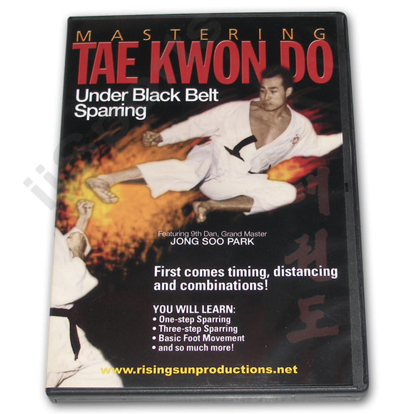 Mastering Tae Kwon Do UNDER Blk Belt Sparring DVD Park