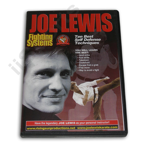Joe Lewis Fighting Ten Best S/D Tech #14 DVD